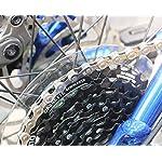 dancepandas-Catena-Bicicletta-6-7-8-18-21-24-velocita-2PCS-Catena-Bici-MTB-Mountain-Bike-Road-Hybrid-Cycle-Chain-Catena-116L-Argento