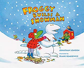 Book Cover: Froggy Builds a Snowman