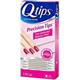 Q-tips Cotton Swabs, Precision Tips 170 ct (Pack of 3)