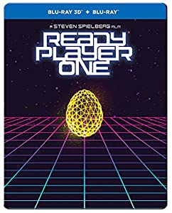 Ready Player One: 3D and 2D Blu-ray SteelBook [Limited Edition] by Warner