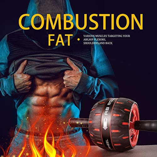 NANYNNU Ab Roller Wheel Abs Workout - Ab Roller Exercise Equipment,Ab Wheel Roller for Home Workout Equipment,Fitness Ab Roller for Core Workouts,Home Abdominal Exercise Equipment for Man and Women 9
