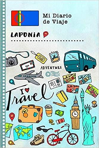 Laponia Diario de Viaje: Libro de Registro de Viajes Guiado ...