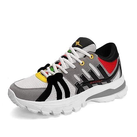 Y-H - Zapatillas de Running para Hombre Blanco Blanco 41