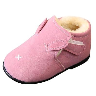 384946e036cbd Amazon.com: Gooldu Baby Girls Shoes Pulison Fashion Animal Cartoon ...