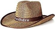 Summer Straw Sun Hat Drying Men Beach Visor Caps Shapeable Brim One Size
