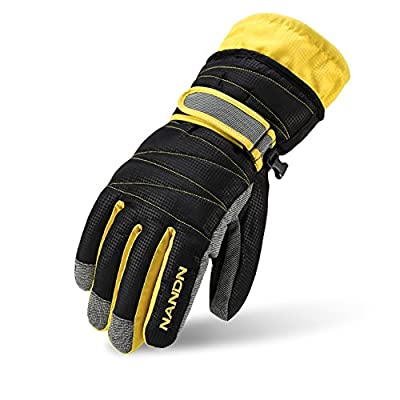 Winter Gloves -30°F Thermal Snow Work Ski Glove Windproof Waterproof Warm Hands in Cold Weather for Women and Men,Cold Resistant Glove with Velvet for Kids (S/M/L/XL)