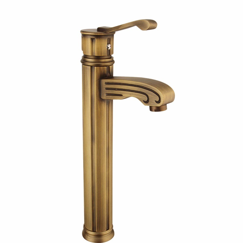 7 Hlluya Professional Sink Mixer Tap Kitchen Faucet Copper, hot and cold, high, Single Hole, ceramic, water taps, 1