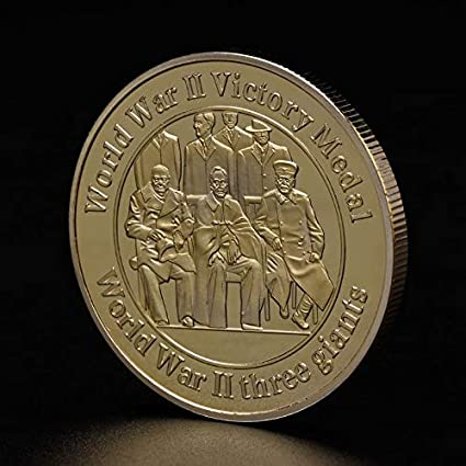Non-currency Coins - Commemorative Coin World War Two 2th