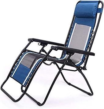 Yuany Tumbona al aire libre, sillón balancín en el jardín, silla de relajación, con cojín, sillón, acolchado individual