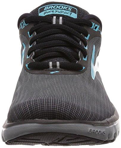 7 de Grey Brooks Green PureFlow Femme Black Running Chaussures tqYa5axS