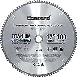 Concord Blades ACB1200T100HP 12-Inch 100 Teeth TCT Non-Ferrous Metal Saw Blade