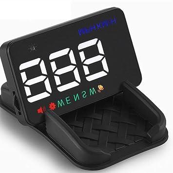 WDFS - Pantalla de proyector de Coche con Pantalla LED GPS para A5 (multifunción, Modo HUD, resolución 7600): Amazon.es: Coche y moto