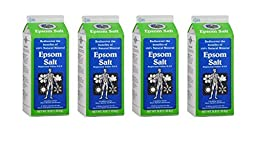 White Mountain Epsom Salt 3 Lb Containers (Pack of 4)