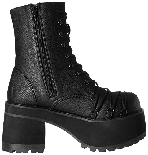 Demonia Black Vegan Leather Women's Demonia Women's CqT88a
