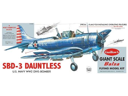 Guillow Douglas SBD-3 Dauntless Kit 31-1/4