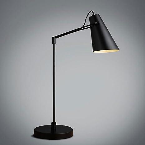 Lámpara de mesa lámpara de escritorio Lámpara de mesa de hierro ...
