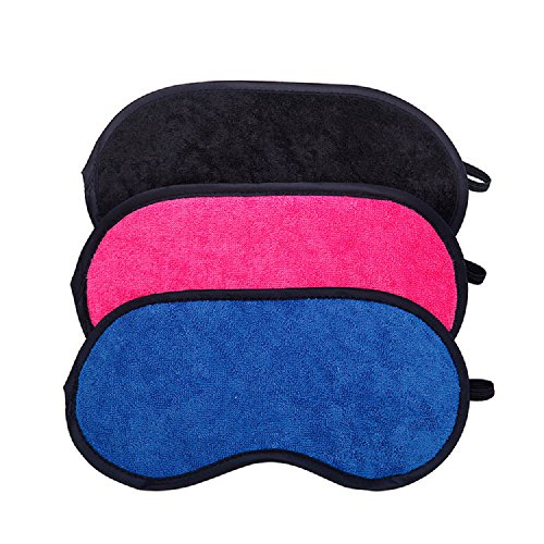 Microfiber Lightweight Comfortable Adjustable Blindfold product image