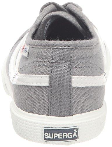 Superga 2951 Cotj - Zapatos de punta redonda con cierre de cordón Multicolor (Grau)