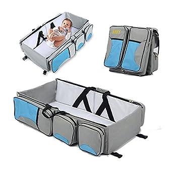 Amazon.com: peterivan bolsa de pañales – 3 en 1 multifunción ...