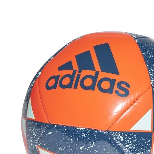 adidas Starlancer V Soccer Ball Active Orange/Legend Marine/Clear Mint, 3