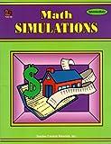 Math Simulations, Teacher Created Materials Staff, 1557341923