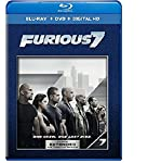 Cover Image for 'Furious 7 (Blu-ray + DVD + DIGITAL HD with UltraViolet)'
