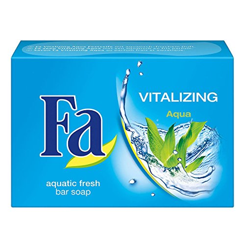 Fa Bar Soap - Revitalizing Aqua 100g/3.5oz (100g Soap Bar)