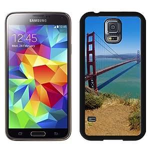 New Beautiful Custom Designed Cover Case For Samsung Galaxy S5 I9600 G900a G900v G900p G900t G900w With San Francisco Bridge Phone Case