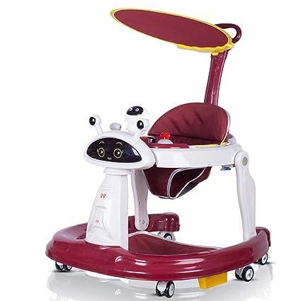 YZT QUEEN Correpasillos bebé, Andador Robot Multifuncional ...