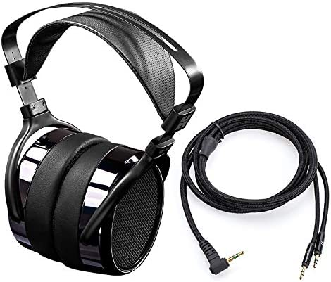 HIFIMAN HE400i Over Ear Open Back Magnetic Planar Reference Studio Headphone with 3.5mm Plug-in Connector-Extended Manufacturer s Warranty