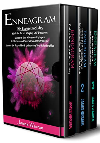 Enneagram 3 books in 1: Find the secret ways of self discovery - Discover the 9 personality types to understand yourself and other people - Learn the Sacred Path to improve your relationships (Discover Your Spiritual Type)