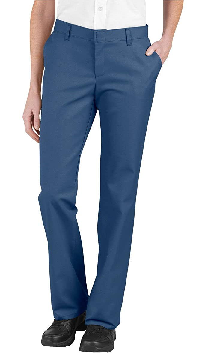 Dickies Womens Relaxed Fit Flat Front Pants DIC-FP322