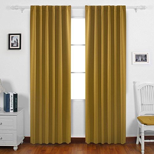 Blackout Curtains blackout curtains 90×90 : Yellow curtains 90x90 - StoreIadore