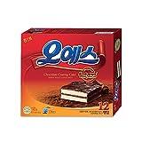 Haitai Ohyes Premium Chocolate Coated Cream Cake 336G X 3 오예스