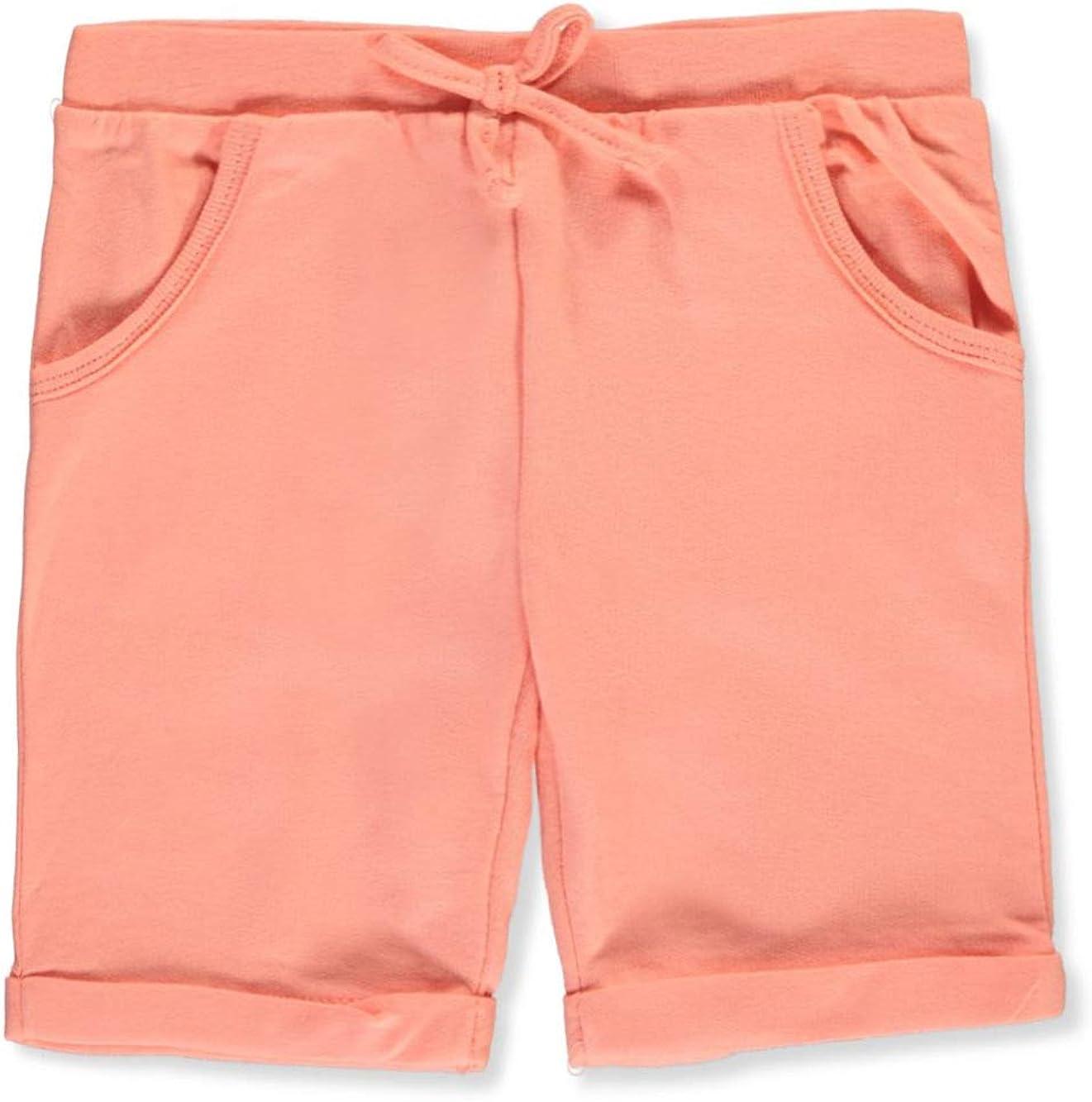 Peach Real Love Toddler Fleece Bermuda Shorts 4t
