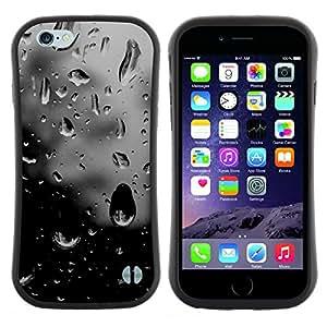 Hypernova Slim Fit Dual Barniz Protector Caso Case Funda Para Apple (5.5 inches!!!) iPhone 6 Plus / 6S Plus ( 5.5 ) [ Sombre espoir fenêtre Sad]