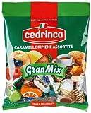 italian hard candy - Cedrinca - Gran Mix Assorted Filled Hard Candies, (2)- 5.25 oz. bags