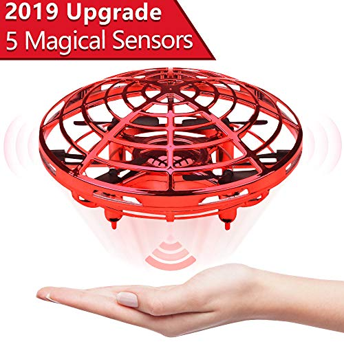 Jasonwell Hand Operated Drone for Kids Toddlers Adults – Hands Free Mini Drones for Kids Flying Toys for Boys and Girls Hand Drone Kids Self Flying Drone