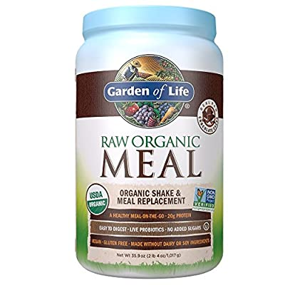 Real Raw Chocolate Cacao USDA Organic Non-GMO Project Verified A Healthy Meal-on-the-Go 20 g Protein Easy to Digest - Live Probiotics - No Added Sugars Raw - Vegan - Gluten Free - Dairy Free - Soy Free B Corporation Certified Certified Organic by QCS...
