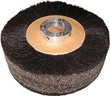 Supreme 8'' x 2'' Black Horse Hair Brush Polish Wheel