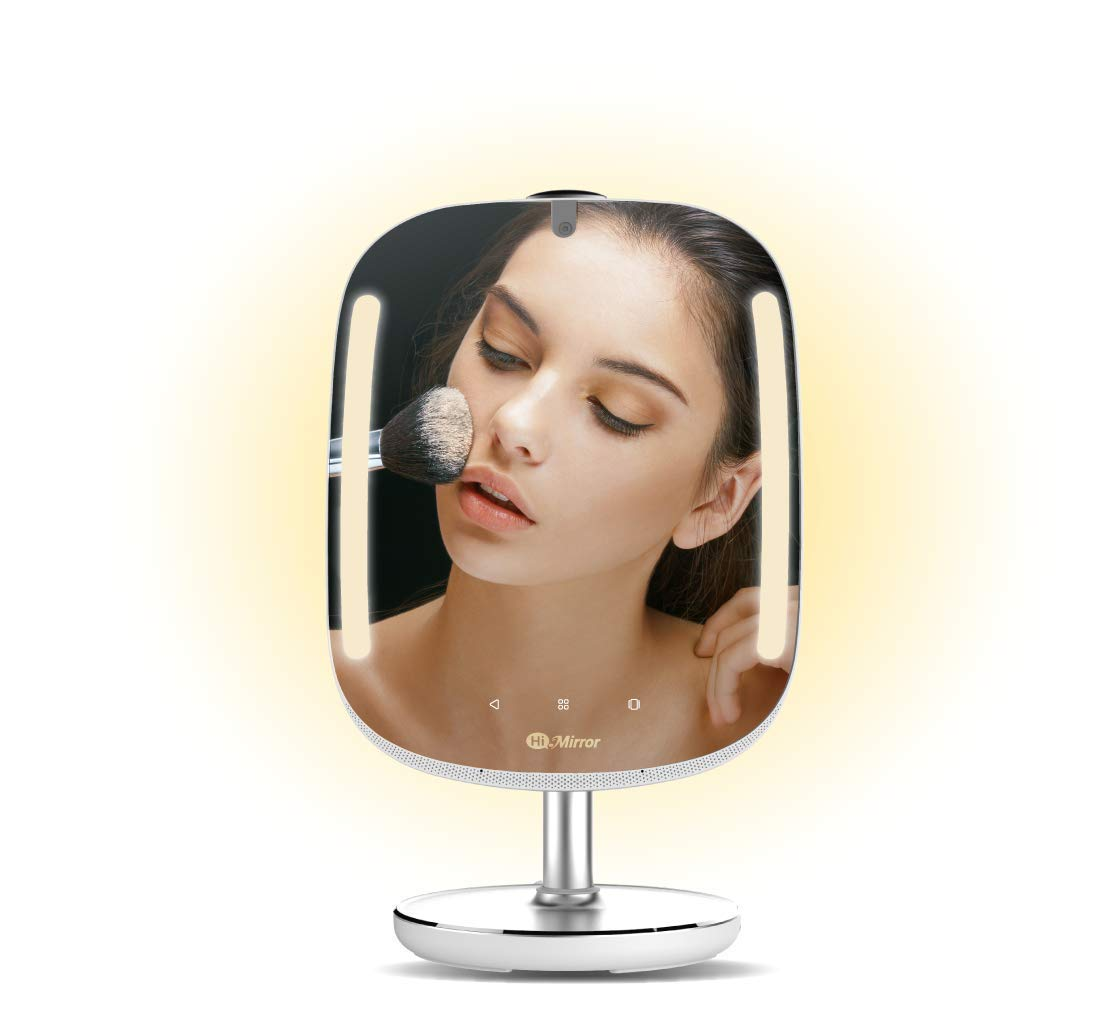 HiMirror Mini 16G: Smart Beauty Mirror with Skin Analyzer, Makeup Mirror with LED Lights, Smart Vanity Mirror with 2X 3X…