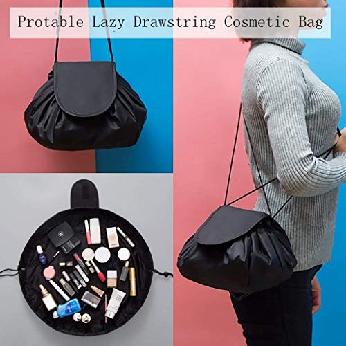 d879fa10838a WJood Store Portable Fashion Drawstring Cosmetic Bag Large - Import ...