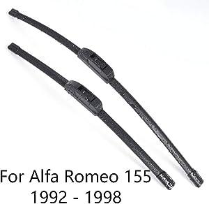 WJUKC Car Windshield Wiper Blades,for Alfa Romeo 155 from 1992 1993 1994 1995 1996 1997 1998