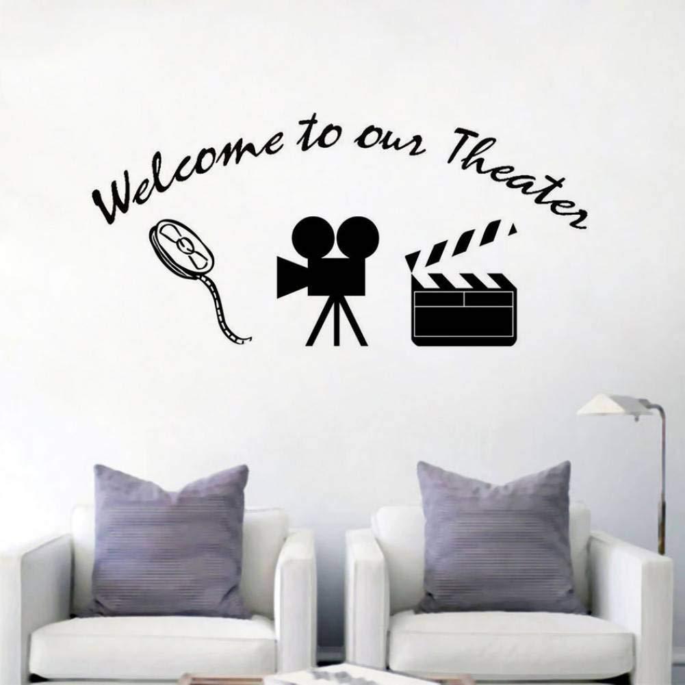 GUDOJK Bienvenido a Nuestro Cartel de Teatro Etiqueta de la ...