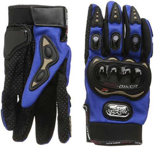 Carbon Fiber Motorcycle Motorbike Cycling Racing Full Finger Gloves