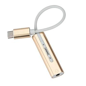 Amazon.com: USB C Tipo C envolvente auriculares 7.1 HD Audio ...