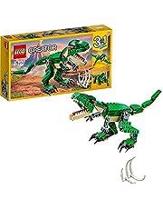 LEGO 31058 Creator Machtige Dinosaurussen, Modulaire 3in1 Set met T-rex, Triceratops en Pterodactyl, voor Kinderen van 7-12