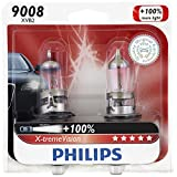 Philips 9008/ H13 X-tremeVision Upgrade Headlight Bulb, 2 Pack