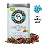 Peaceful Pregnancy Tea from Birds & Bees - Organic Nutrient Rich Red Raspberry Leaf tea for Pregnancy, Preconception, and Beyond! - Great for Pregnant Mothers and is Pregnancy SAFE. 30 Servings