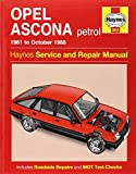 Opel Ascona Service and Repair Manual (Haynes Service and Repair Manuals)